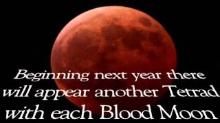 The Coming FOUR Blood Moons