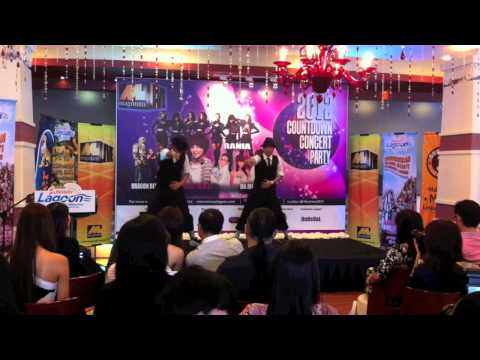 School Brotherz (Press Conference 2012 Countdown Concert Party)