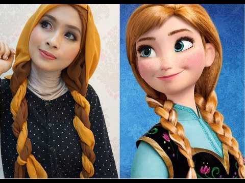 Princess Anna Frozen Makeup
