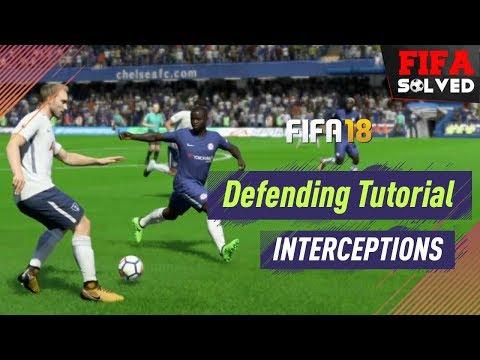 FIFA 18 Defending Tutorial | How To Intercept Tips