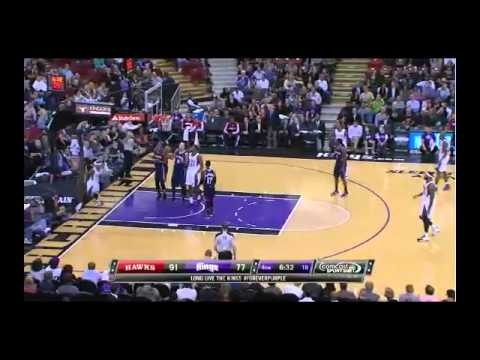 NBA CIRCLE - Atlanta Hawks Vs Sacramento Kings Highlights 5 Nov. 2013 http://www.nbacircle.com