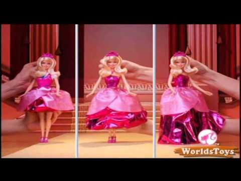 Barbie princess charm school on the top of the world greek ...