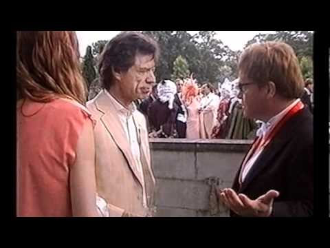 'Being Mick' (Jagger) documentary - Elton John discussing Madonna at white tie and tiara ball