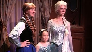 More Frozen Coming To Walt Disney World With Anna And Elsa