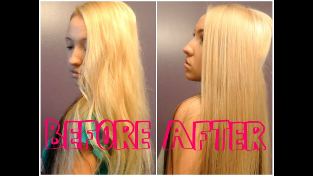 How To Remove Yellow From Bleach Blonde Hair ♡ Youtube
