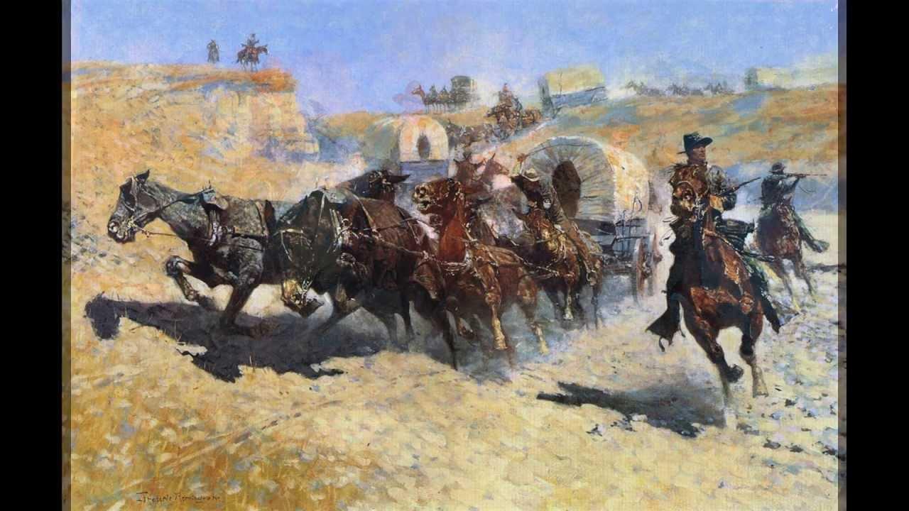 Famous cowboy art - photo#13