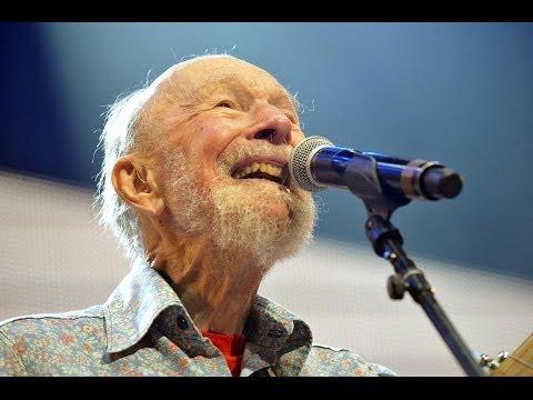 US Folk Singer Pete Seeger dies aged 94