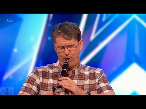 Britain's Got Talent 2017 Mark Holt Clarinetist Full Audition S11E06