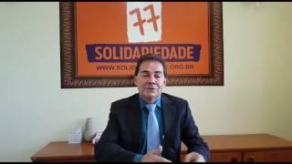 Paulinho agradece apoio da população