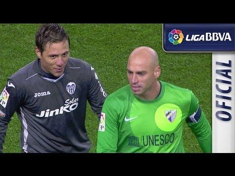 Todas las ocasiones de Málaga CF (0-0) Valencia CF