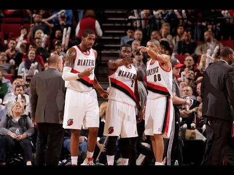 Into The Action: Portland Trailblazers