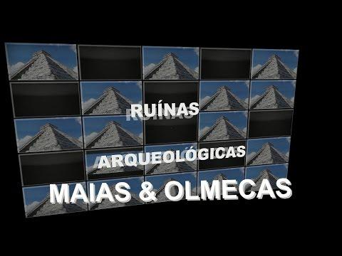 RUÍNAS ARQUEOLÓGICAS MAIAS & OLMECAS