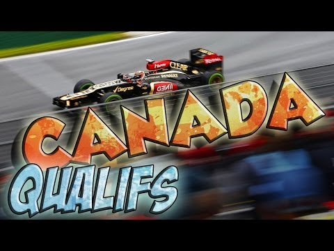F1 2013 - Grand Prix du Canada - Qualifications - Saison 3