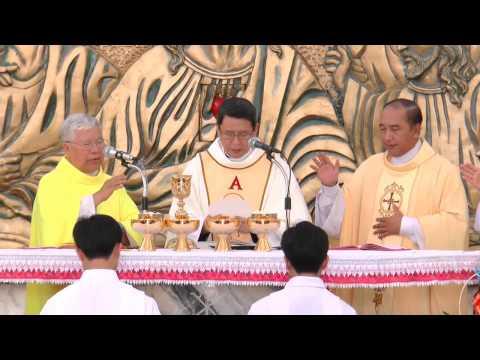 Giáo xứ Tân Đông khai mạc Năm Thánh