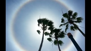 Woman Calls 911 To Report A Sun Halo As A UFO