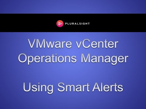Using Smart Alerts in vCenter Operations Manager