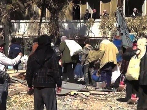 Syrian city evacuated amid tense ceasefire