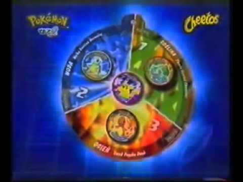 Pokemon Metal Tazo 2006 Reklama