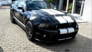 FORD MUSTANG SHELBY GT500 2013 Walkaround videos