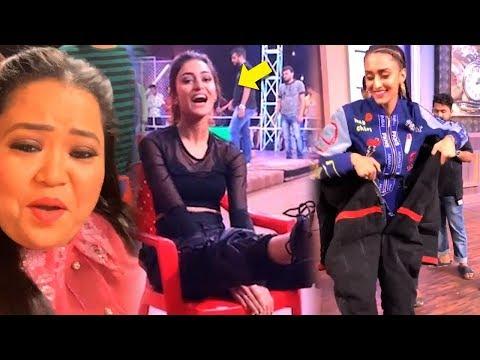 "Bharti Singh's FUNNY Video Wid Erica Fernandes While Shooting Tv Show ""Khatra Khatra Khatra"""