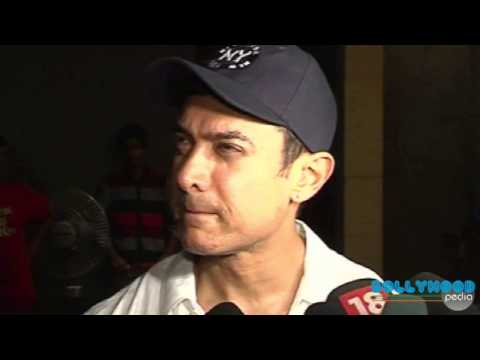 Aamir Khan, Kiran Rao, Imran Khan Come to Watch Hollywood Movie