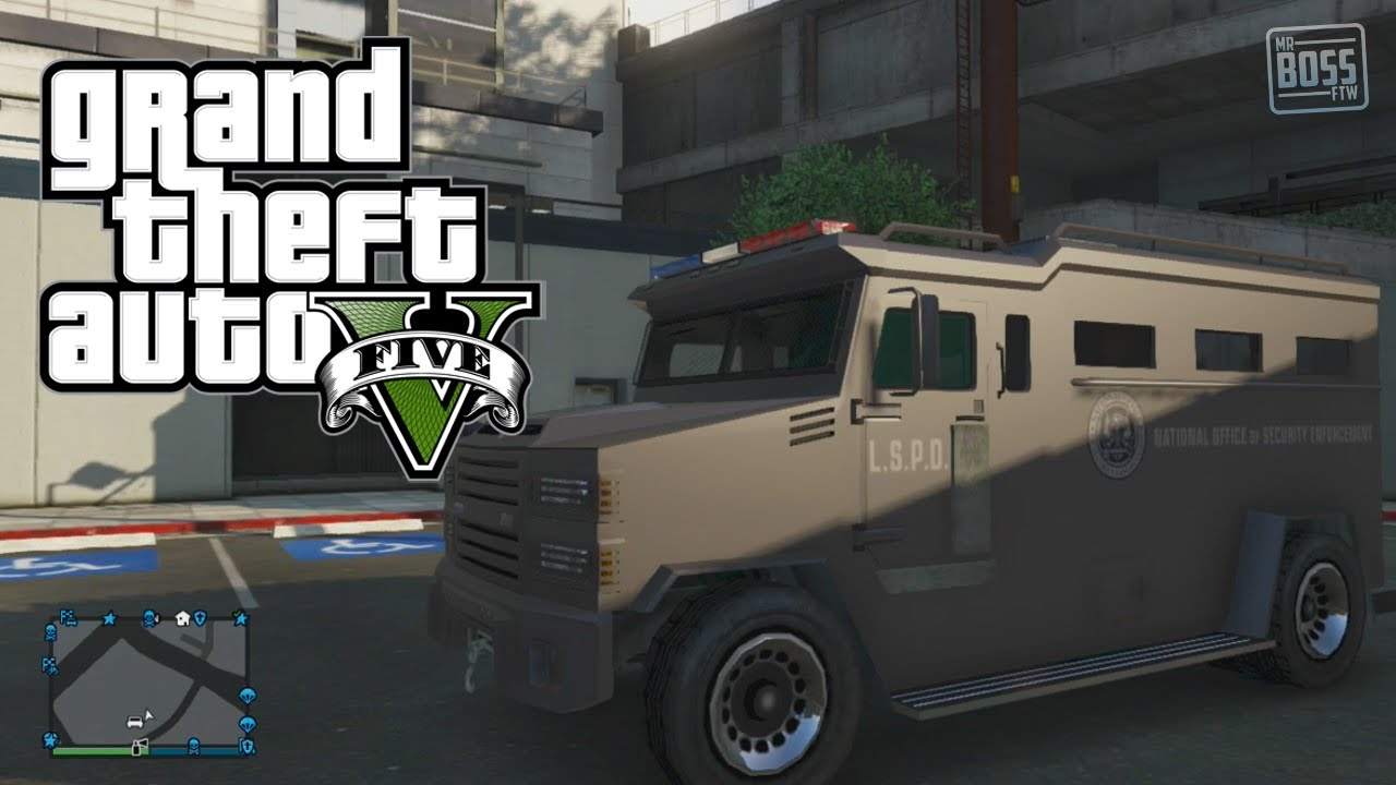 GTA 5 Police Cars Location