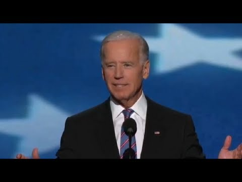 Vice President Joe Biden's Remarks at the 2012 Democratic National Convention - Full Speech