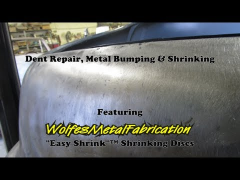 Dent Repair, Metal Bumping & Shrinking with a Wolfes Metal Fabrication