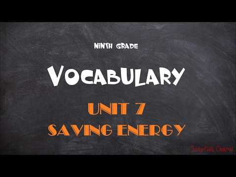 Học tốt tiếng Anh lớp 9 - Unit 7 Saving energy