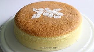 Japanese Cotton Cheesecake | Suka Suka Amel
