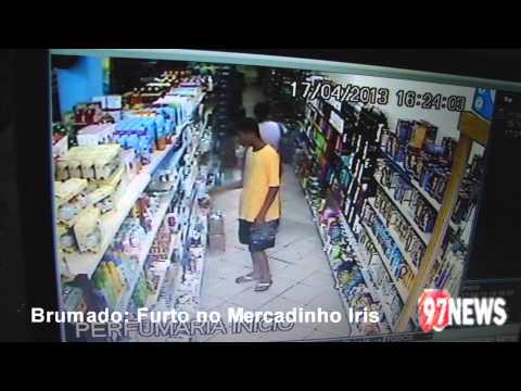 FURTO MERCADINHO IRIS-BRUMADO