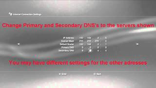 PS3 TUTORIAL Better Internet Connection Settings. NO LAG