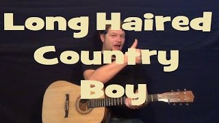 Long Haired Country Boy (CHARLIE DANIELS) Easy Strum