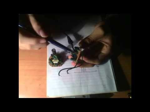 Làm nguồn xung từ mạch đèn compact - anta