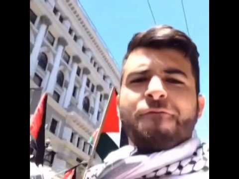 Amazing and loud demonstration in San Francisco! #FreePalestine #FreeGaza #GazaUnderAttack #Gaza