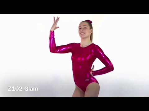 Glam Long Sleeve Gymnastics Leotard