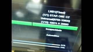 Transformando Azamerica S922 Em TocomSat Duplo HD