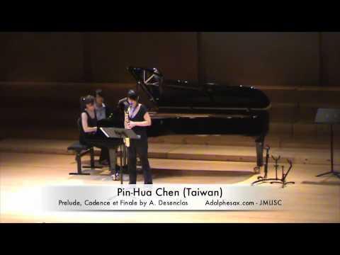 3rd JMLISC Pin-Hua Chen (Taiwan) Prelude, Cadence et Finale by A. Desenclos