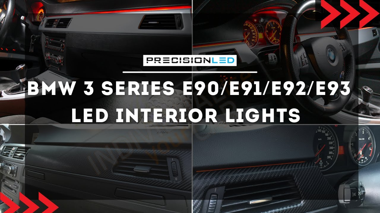 Bmw 3 Series Led Install E90 E91 E92 E93 2006 2011 Youtube