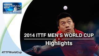 Review all the highlights from the MA Long vs MATSUDAIRA Kenta 1/16 first stage table tennis match at the 2014 Men&#39;s <b>World</b>...</div><div class=