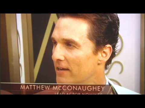 MATTHEW McCONAUGHEY- RED CARPET-OSCAR 2014