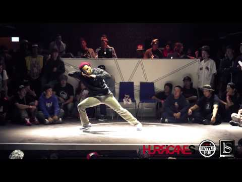 HURRICANES BATTLE-ISM 2013 TAIWAN | PHYSS (France) [HIP HOP JUDGE SOLO]