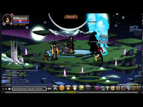 AQW Ultra Elemental Warrior Class Guide/Solo [+ Enhancements],