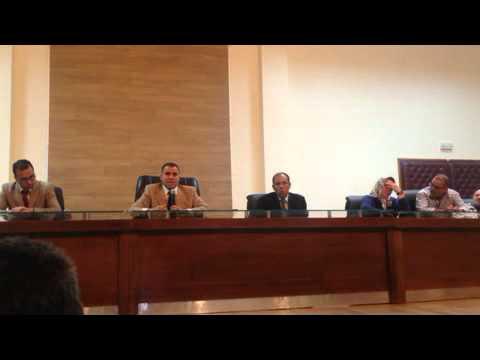 مداخلة ممثل السلطة خلال اجتماع جمعيات اولاد تايمة