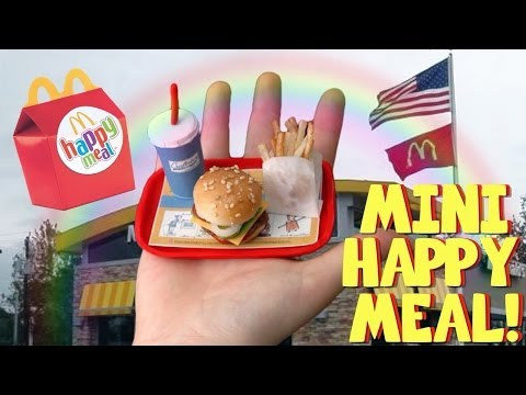 MINIATURE HAPPY MEAL!