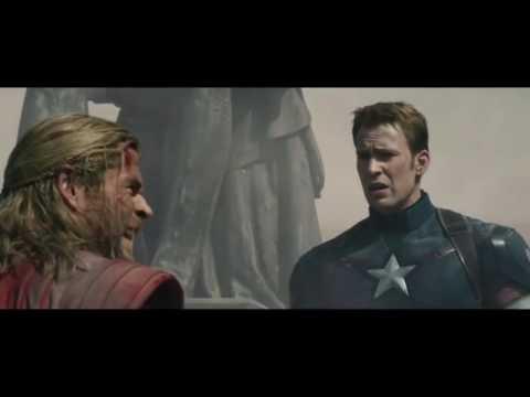 Avengers age of ultron- quick silver's death scene