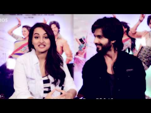 Shahid Kapoor & Sonakshi Sinha - Finally Found You