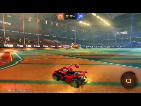 Rocket league PvP Gameplay