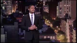 Trevor Noah on The David Letterman Show