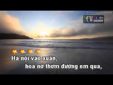 Karaoke Mùa hoa đào tân cổ Nguyễn Kha Beat http newtitanvn com YouTube   YouTube